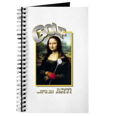 GOLF...IT'S AN ART! Journal