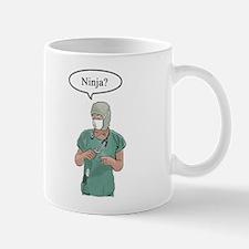 Funny Funny doctor ninja Mug