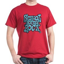 Schoolhouse Rock TV Dark T-Shirt