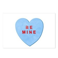 Be Mine Valentine Postcards (Package of 8)
