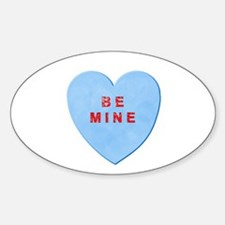 Be Mine Valentine Decal