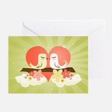 Love Birds at Heart - Greeting Cards (Package of