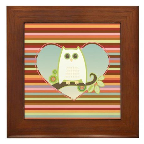 Owl Always Love You - Framed Tile