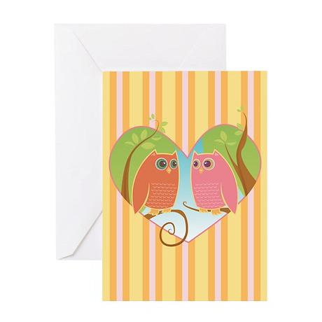 Owl Always Love U 2 - Greeting Card