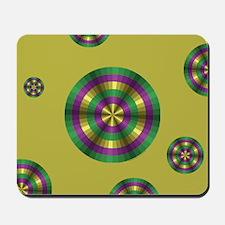 Mardi Gras Illusion Mousepad