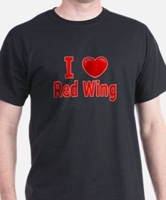 I Love Red Wing T-Shirt