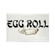 Egg Roll Rectangle Magnet