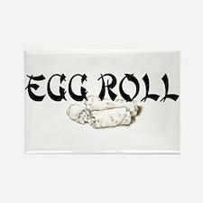 Egg Roll Rectangle Magnet