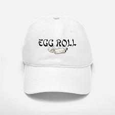 Egg Roll Baseball Baseball Cap