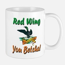 Red Wing 'You Betcha' Loon Mug