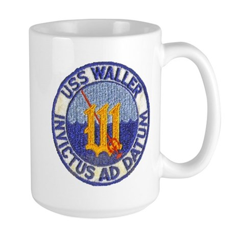 USS WALLER Large Mug