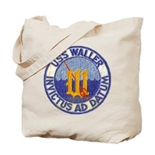 USS WALLER Tote Bag