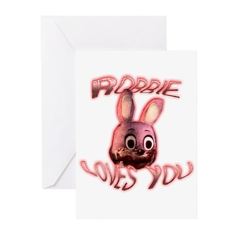 Robbie Loves You Greeting Cards (Pk of 10)