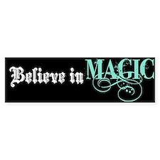 Believe in Magic Bumper Bumper Sticker