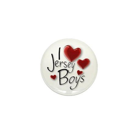 Jersey Boys Mini Button