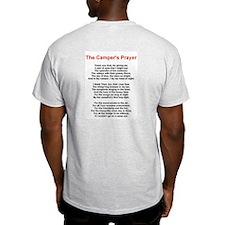 Camper's Prayer Ash Grey T-Shirt