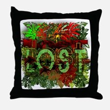 Lost TV Jungle Heat Throw Pillow