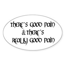 Good Pain Decal