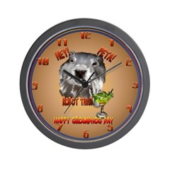 PETA! Robot This! Wall Clock