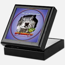 Punxsutawney Phil's Shadow Keepsake Box