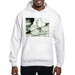 Ice Pigeons Hooded Sweatshirt