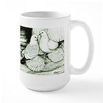 Ice Pigeons Large Mug