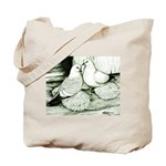 Ice Pigeons Tote Bag