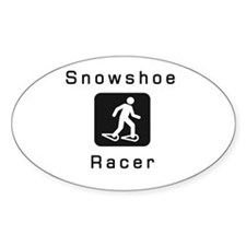 Snowshoe Racer Decal