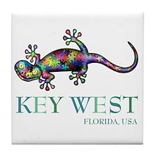Unique Gecko Tile Coaster