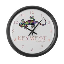 Cute Key west Large Wall Clock