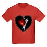 Cat valentine shirt Kids T-shirts (Dark)