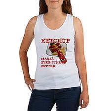 Ketchup Women's Tank Top