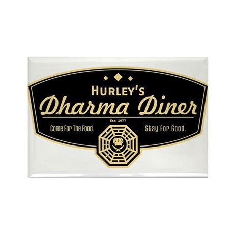 Hurley's Dharma Diner Rectangle Magnet (100 pack)