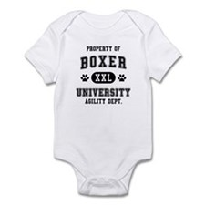 Property of Boxer Univ. Infant Bodysuit