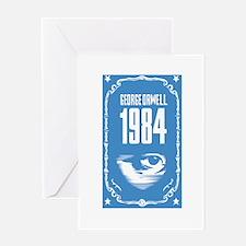 1984 - George Orwell Greeting Card