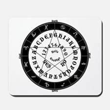 Ouija Witch Mousepad