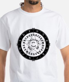 Ouija Witch Black and White Tee