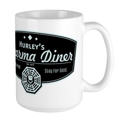 Hurley's Dharma Diner Large Mug