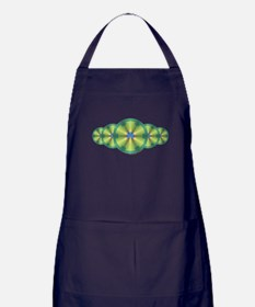 Peacock Illusion Apron (dark)