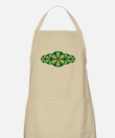 Peacock Illusion Apron