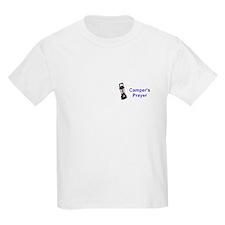 Camper's Prayer Kids T-Shirt