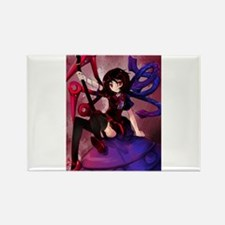 Cute Touhou Rectangle Magnet