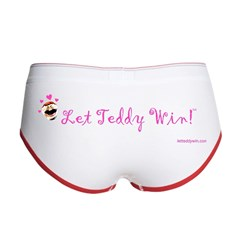 Love Let Teddy Win! Women's Boy Brief