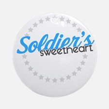 Soldier's Sweetheart Ornament (Round)