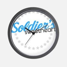 Soldier's Sweetheart Wall Clock