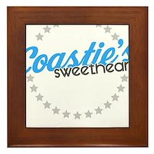 Coastie's Sweetheart Framed Tile
