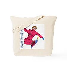 Snowboard #1 Tote Bag