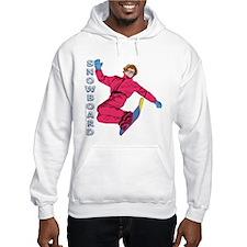 Snowboard #1 Hoodie