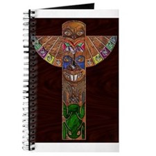 Totem Pole Art Printed on Journal