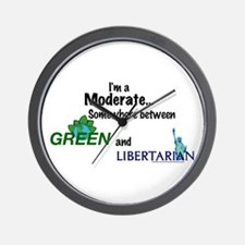 I'm A Moderate Wall Clock